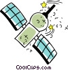 Satellite Vector Clip Art picture