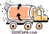 Cement Mixers Vector Clip Art picture