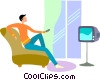 Televisions Vector Clip Art picture