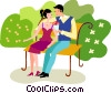Couples and Romance Vector Clip Art image