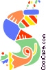 Vector Clipart graphic  of a School Subjects