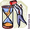 Concepts of time Vector Clipart graphic