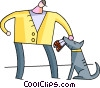Misc Dogs Vector Clip Art graphic