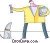 Vector Clipart image  of a Misc Dogs