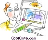 Vector Clip Art image  of an Architects and Designers