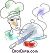 Chefs and Cooks Vector Clip Art picture