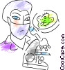 Scientists and Researchers Vector Clipart illustration