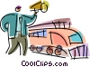 Train Stations Vector Clip Art image