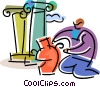 Archeology Vector Clipart illustration