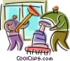 Cleaners Vector Clip Art picture