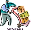 Courier Services Vector Clip Art image