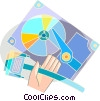 Hard Disk Drives Vector Clipart picture