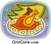 Vector Clipart graphic  of a Poultry