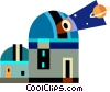 Observatories Vector Clipart picture