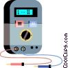 Vector Clip Art picture  of a Test Equipment