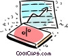 Vector Clipart picture  of a Charts