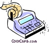 Calculators Vector Clipart illustration
