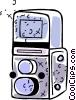 Cameras Vector Clipart image
