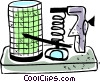 Telegraphs Vector Clipart image