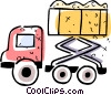 Dump Trucks Vector Clip Art graphic