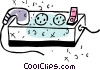Vector Clip Art graphic  of a Power Bars