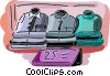 Vector Clipart illustration  of a dress shirts for sale