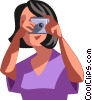 Photographers Vector Clipart picture