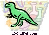 Dinosaurs Vector Clip Art picture