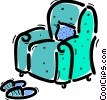 Vector Clipart picture  of a Chairs
