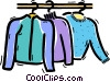 Sweaters Vector Clipart picture