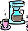 Coffee Pots and Coffee Makers Vector Clipart graphic