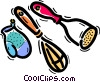 Cooking Tools Vector Clipart illustration