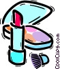 Vector Clipart picture  of a Lipstick