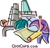 Trades People Vector Clipart picture
