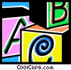 Blocks Vector Clipart image