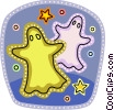 Ghosts Vector Clip Art picture