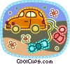 Just Married Vector Clip Art picture
