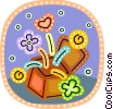 Vector Clipart picture  of a Hearts