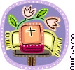 Vector Clipart illustration  of a Bibles
