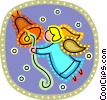 Angels Vector Clipart picture