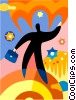 Soaring to New Heights Vector Clipart illustration