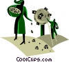 Financial concept Vector Clipart picture