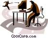 Vector Clip Art picture  of a E-mail concept