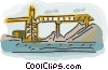bridge Vector Clipart image