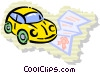 Family Cars Vector Clipart illustration