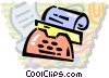 Typewriters Vector Clipart graphic