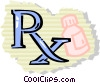 Medicine and Prescriptions Vector Clipart picture
