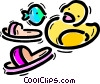 Vector Clipart graphic  of a Sandals