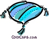 Vector Clipart graphic  of a Cushions and Pillows