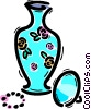 Vases Vector Clipart illustration